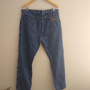Men's Wrangler jeans size 38x34